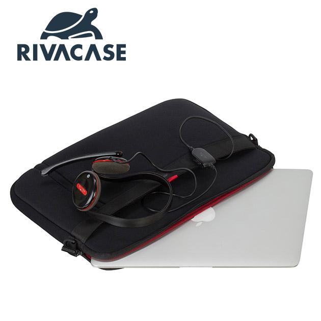 Rivacase 5120 Antishock<BR>13.3吋側背包 2