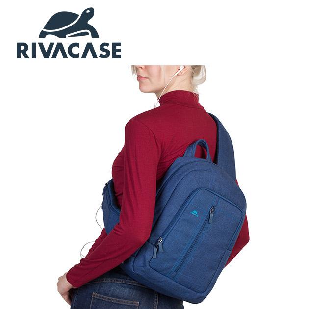 Rivacase 7529 Alpendorf<BR>13.3吋斜背包 3