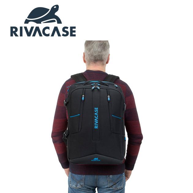 Rivacase 7860 Borneo<BR>17.3吋電競後背包 5