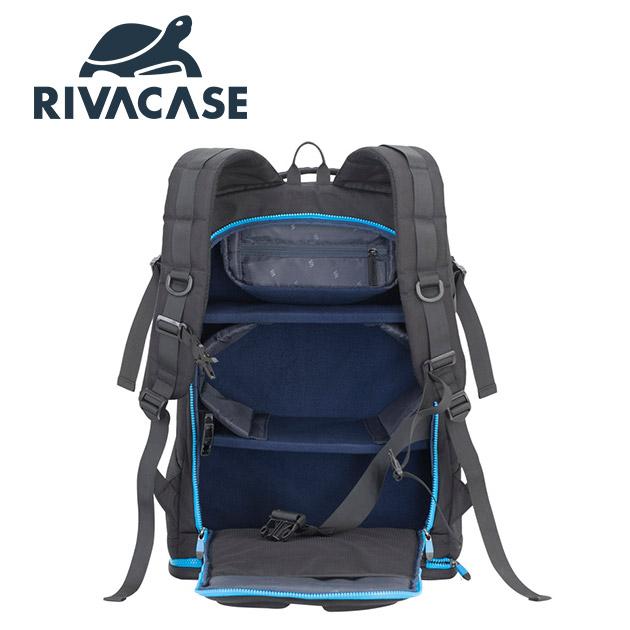 Rivacase 7890 Borneo<BR>16吋空拍機(大)用後背包 4
