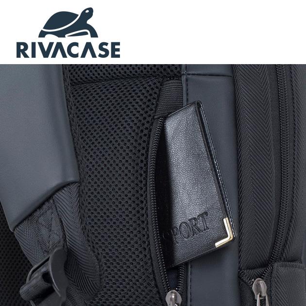 Rivacase 8125 Narita<BR>14吋電腦後背包 5