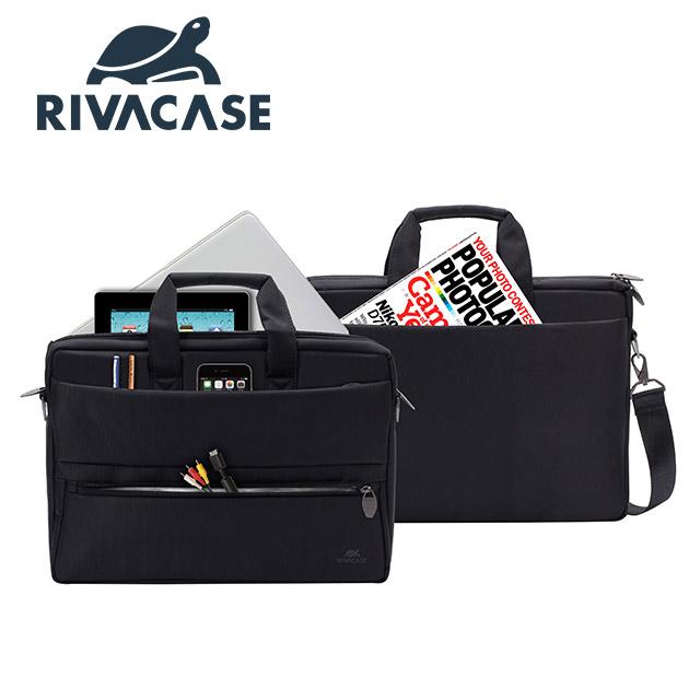 Rivacase 8630 Tiergarten<BR>15.6吋側背包 2