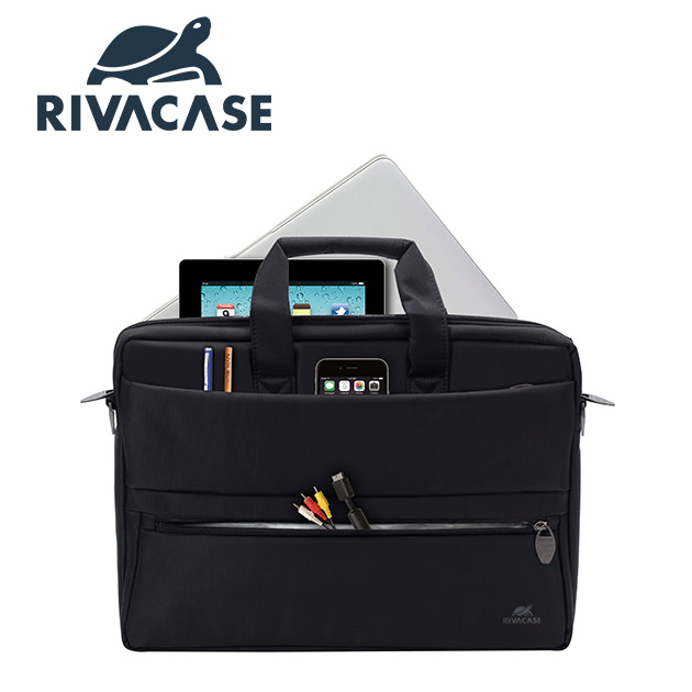 Rivacase 8630 Tiergarten<BR>15.6吋側背包 4
