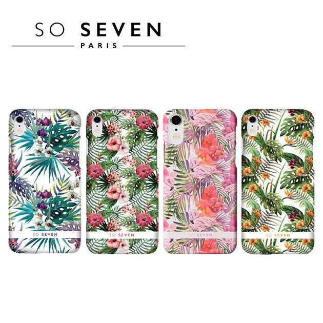 SO SEVEN iPhone X 法國巴黎<BR>里約花卉系列手機保護殼 1