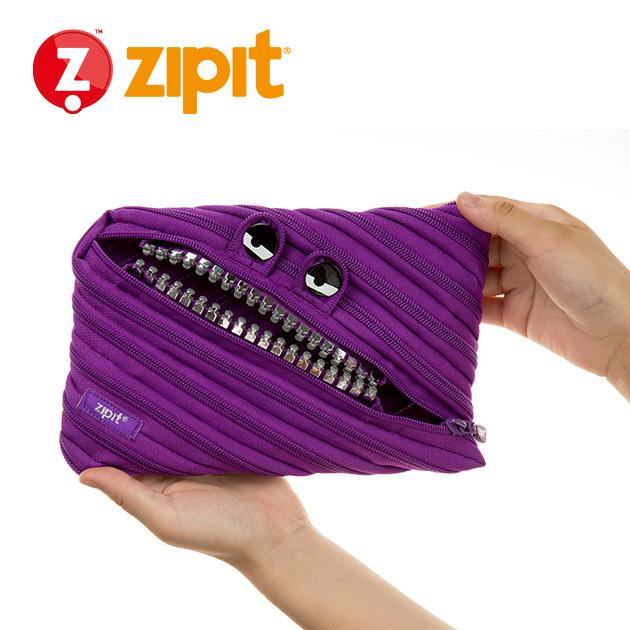 ZIPIT 怪獸拉鍊包<BR>★壞壞紫★鋼牙系列 2
