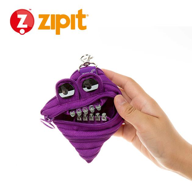 ZIPIT 怪獸拉鍊包<BR>★壞壞紫★鋼牙系列 4