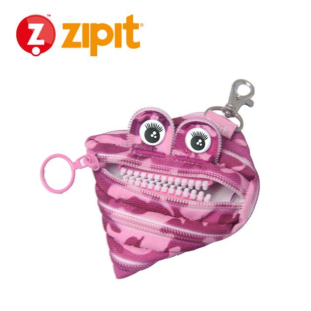 ZIPIT 怪獸拉鍊包<BR>★迷彩粉★系列 4
