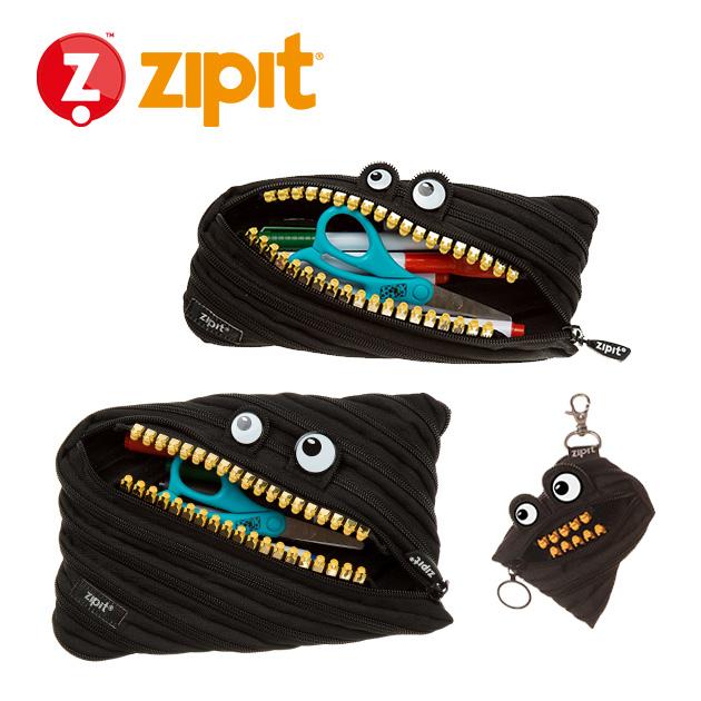 ZIPIT 怪獸拉鍊包<BR>★酷酷黑★鋼牙系列 1