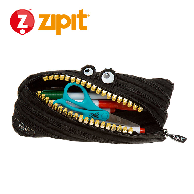ZIPIT 怪獸拉鍊包<BR>★酷酷黑★鋼牙系列 4