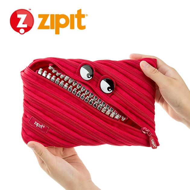 ZIPIT 怪獸拉鍊包<BR>★跩跩紅★鋼牙系列 2