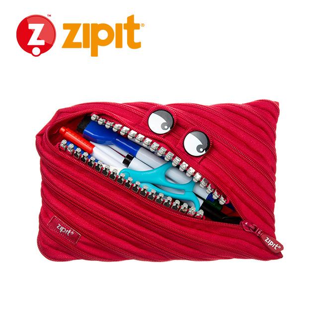 ZIPIT 怪獸拉鍊包<BR>★跩跩紅★鋼牙系列 3