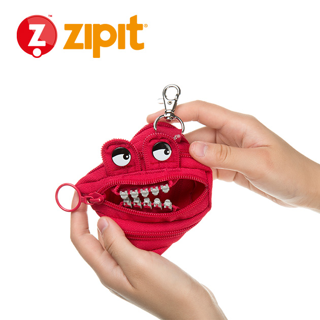 ZIPIT 怪獸拉鍊包<BR>★跩跩紅★鋼牙系列 5