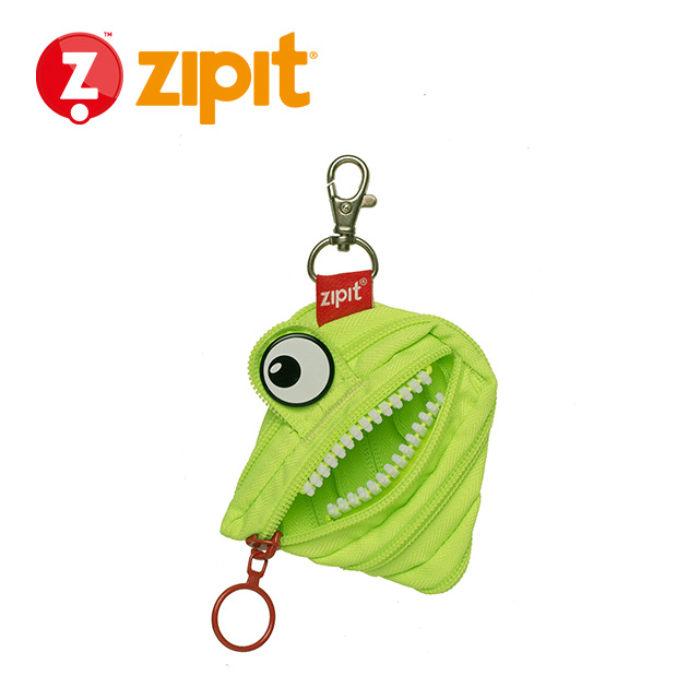 ZIPIT 怪獸拉鍊包<BR>★斑斑綠★系列 4