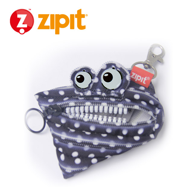 ZIPIT 怪獸拉鍊包<BR>★黑點點★系列 4