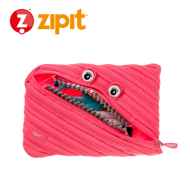 ZIPIT 怪獸拉鍊包<BR>★娃娃粉★鋼牙系列 2