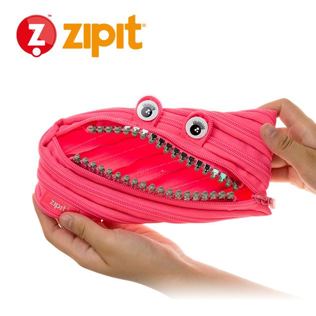 ZIPIT 怪獸拉鍊包<BR>★娃娃粉★鋼牙系列 4