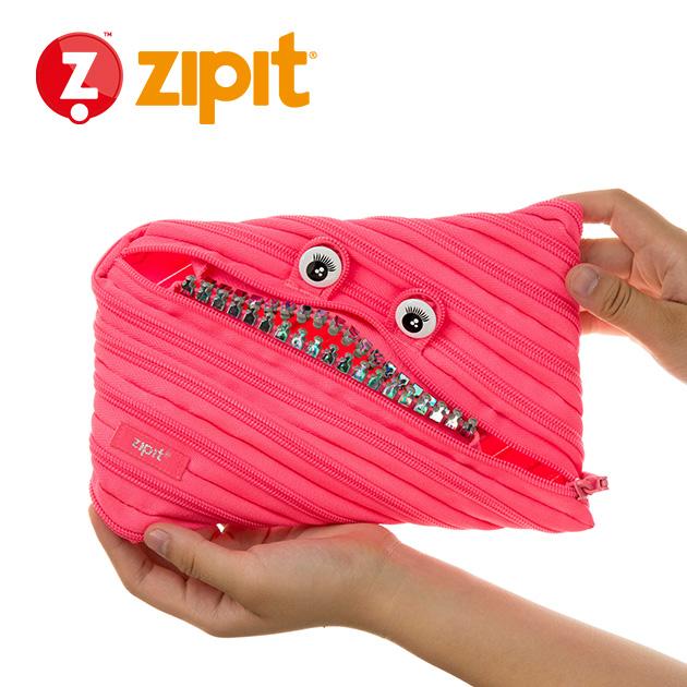 ZIPIT 怪獸拉鍊包<BR>★娃娃粉★鋼牙系列 3