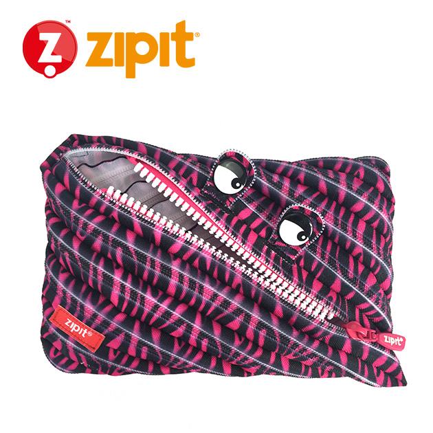 ZIPIT 怪獸拉鍊包<BR>★斑馬粉★系列 2
