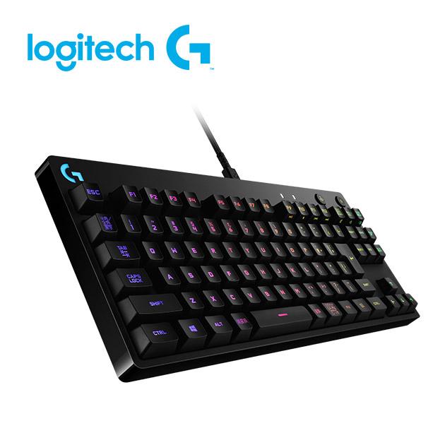 羅技 Pro 精簡型機械式遊戲鍵盤 2