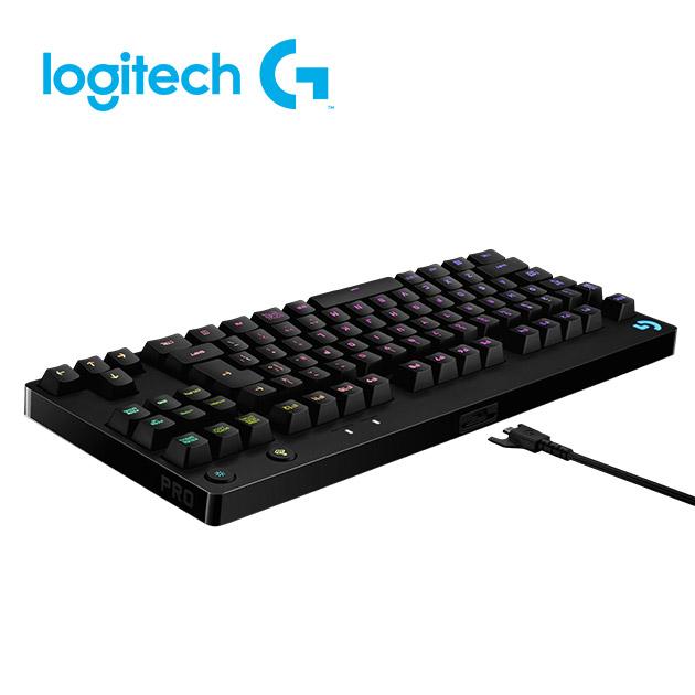 羅技 Pro 精簡型機械式遊戲鍵盤 3