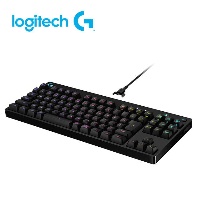 羅技 Pro 精簡型機械式遊戲鍵盤 4