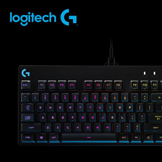 羅技 Pro 精簡型機械式遊戲鍵盤 5