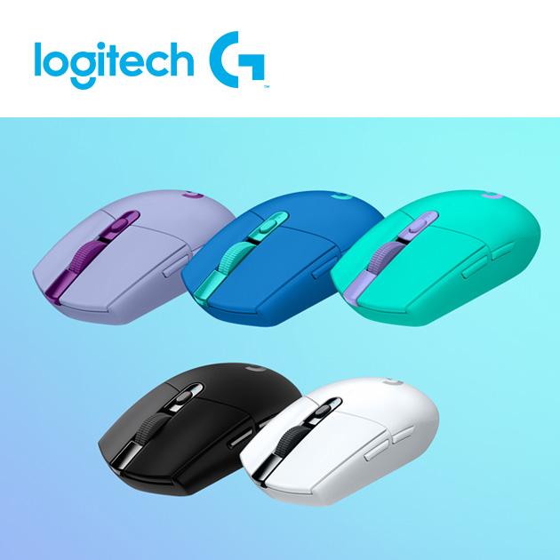 羅技 G304 無線電競滑鼠<BR><font color=743181>※PLAY YOUR WAY 個性五色 2