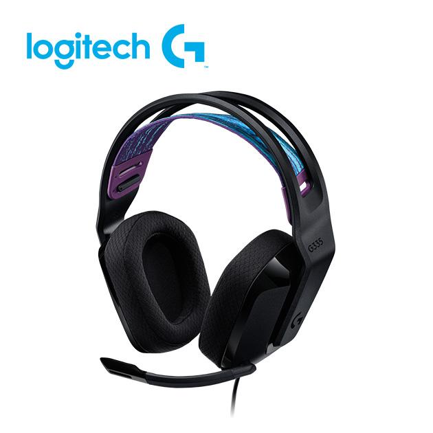 羅技 G335 輕盈電競耳機麥克風 3