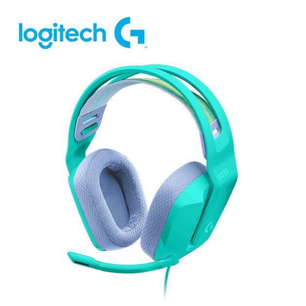 羅技 G335 輕盈電競耳機麥克風 4