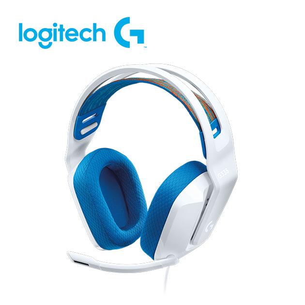 羅技 G335 輕盈電競耳機麥克風 5