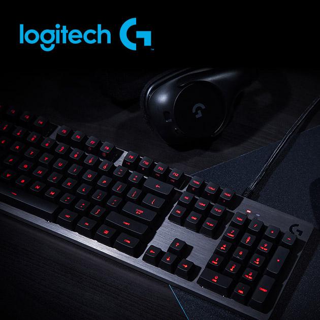 羅技 G413 機械式背光遊戲鍵盤 3