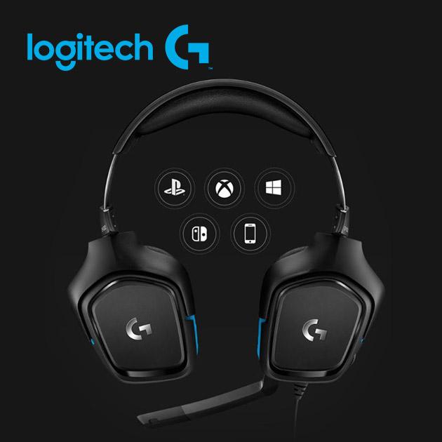 羅技 G431 7.1聲道 環繞音效電競耳機麥克風 3