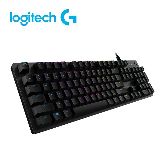 羅技 G512 機械式電競鍵盤<BR>GX 觸感軸(tactile茶軸) 1