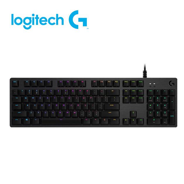 羅技 G512 機械式電競鍵盤<BR>GX 觸感軸(tactile茶軸) 2