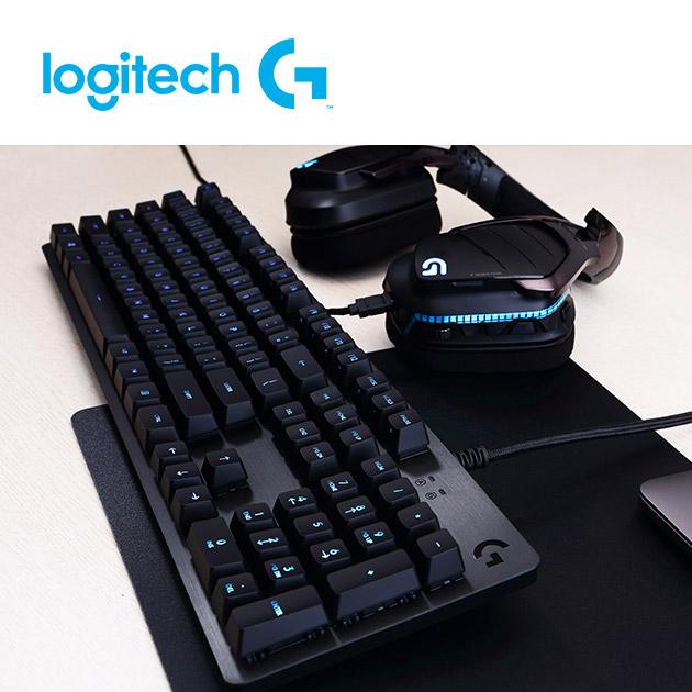羅技 G512 機械式電競鍵盤<BR>GX 觸感軸(tactile茶軸) 5