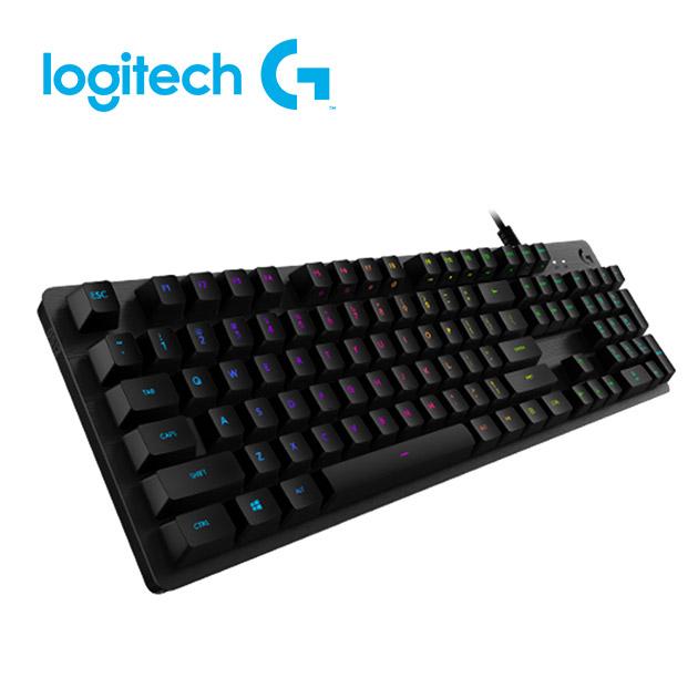 羅技 G512 RGB 機械式遊戲鍵盤<BR>(Clicky青軸) 1