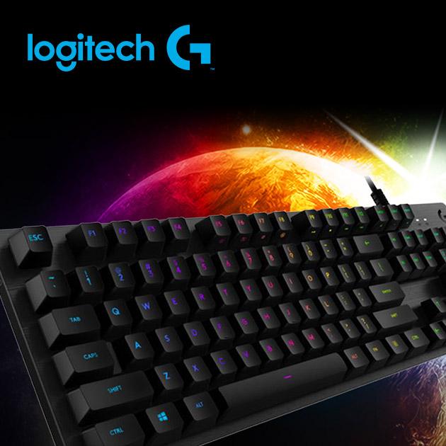 羅技 G512 RGB 機械式遊戲鍵盤<BR>(Clicky青軸) 2