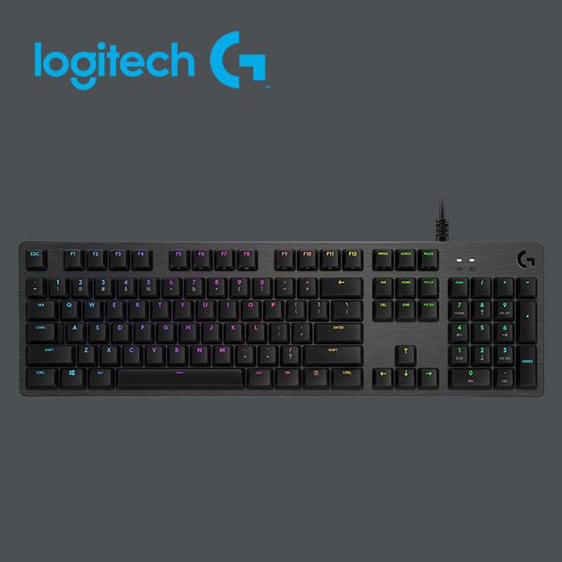 羅技 G512 RGB 機械式遊戲鍵盤<BR>(Clicky青軸) 5