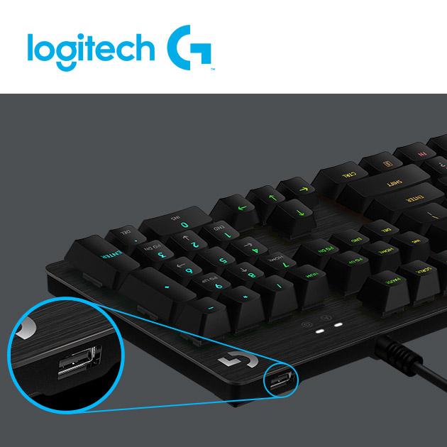 羅技 G512 SE 機械式電競鍵盤<BR>(青軸2019版) 4