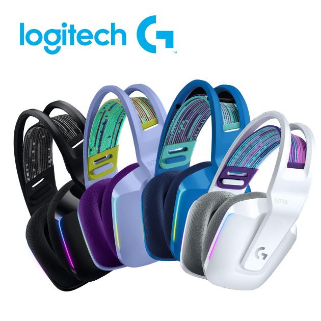 羅技 G733 無線RGB炫光電競耳麥 1