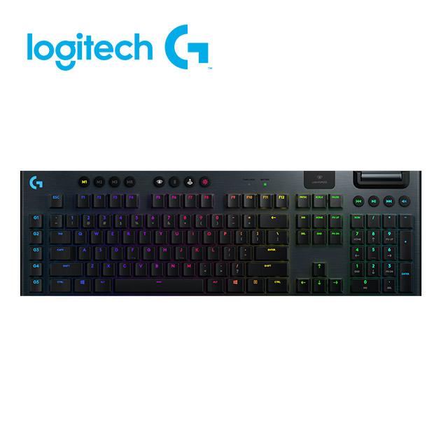羅技 G913 RGB 無線遊戲鍵盤<BR>觸感軸/線性軸 2