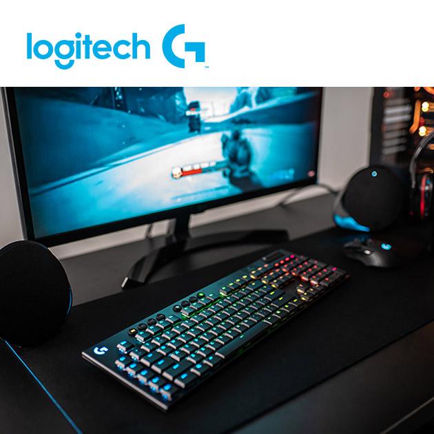 羅技 G913 RGB 無線遊戲鍵盤<BR>觸感軸/線性軸 4