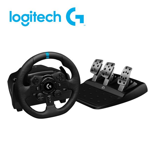 羅技 G923 模擬賽車方向盤 1