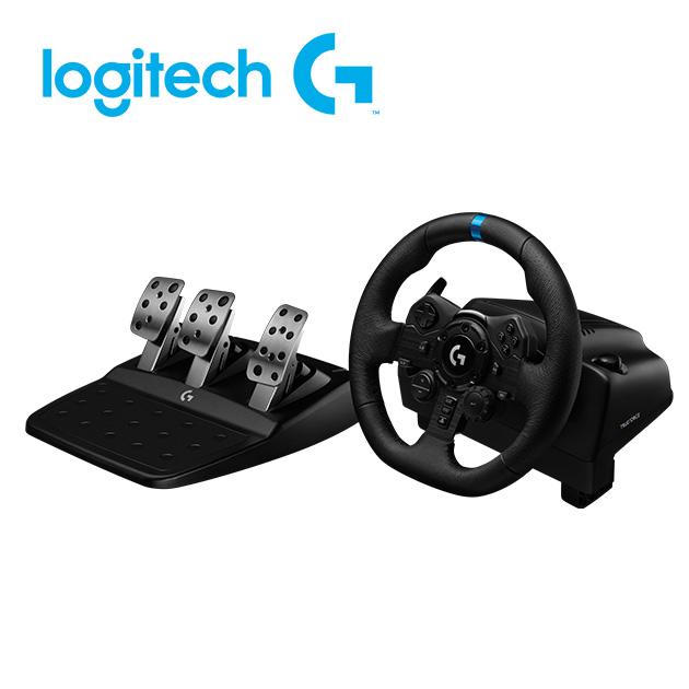 羅技 G923 模擬賽車方向盤 2
