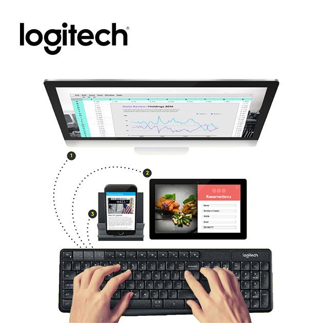 羅技 K375s 無線鍵盤支架組合 Multi-Device 2