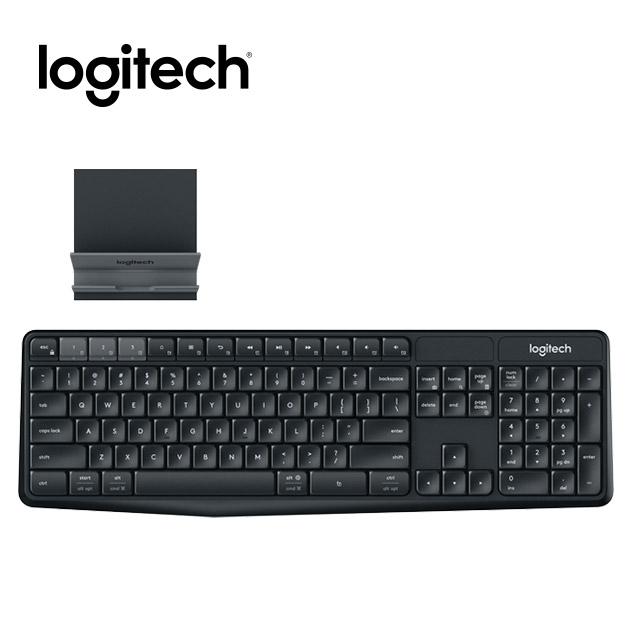 羅技 K375s 無線鍵盤支架組合 Multi-Device 1