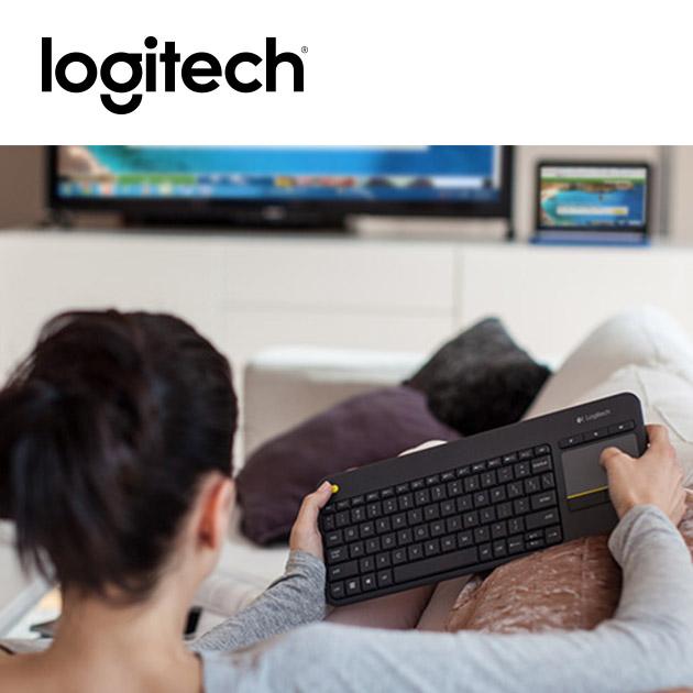 羅技 K400 Plus 無線觸控板鍵盤 4