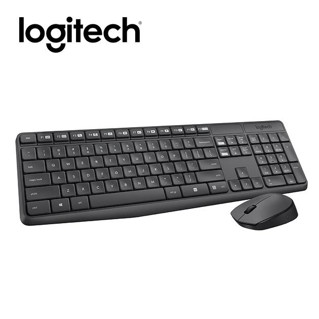 羅技 MK235 無線鍵盤滑鼠組 1