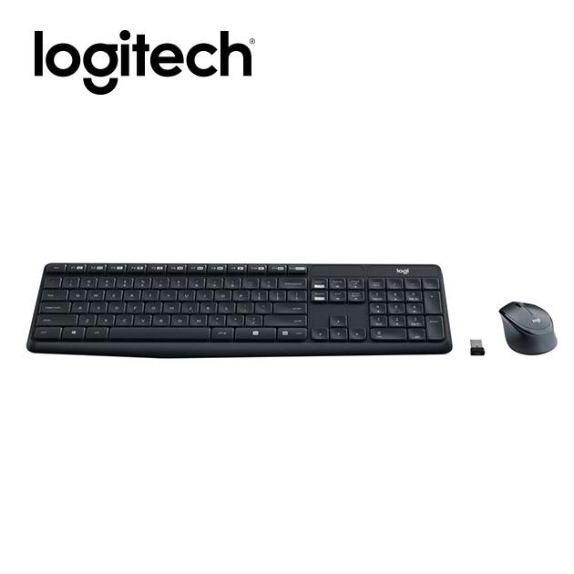 羅技 MK315 無線靜音鍵盤滑鼠組<BR><font color=1595ee>※後續停產 2