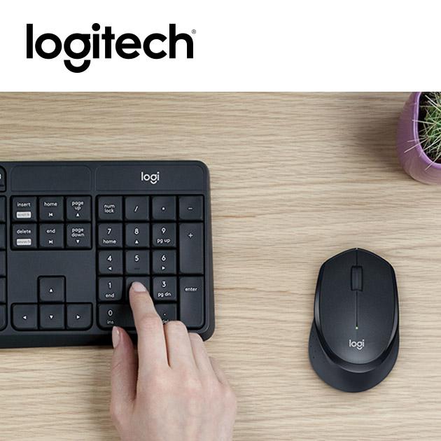 羅技 MK315 無線靜音鍵盤滑鼠組<BR><font color=1595ee>※後續停產 3